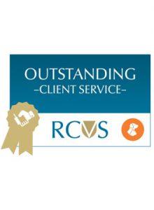 RCVS Client Service award